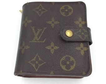 Louis Vuitton Wallet Louis Vuitton Monogram Purse LV Wallet Vuitton Zip Wallet Authentic Vintage Designer Wallet Louis Vuitton Repair