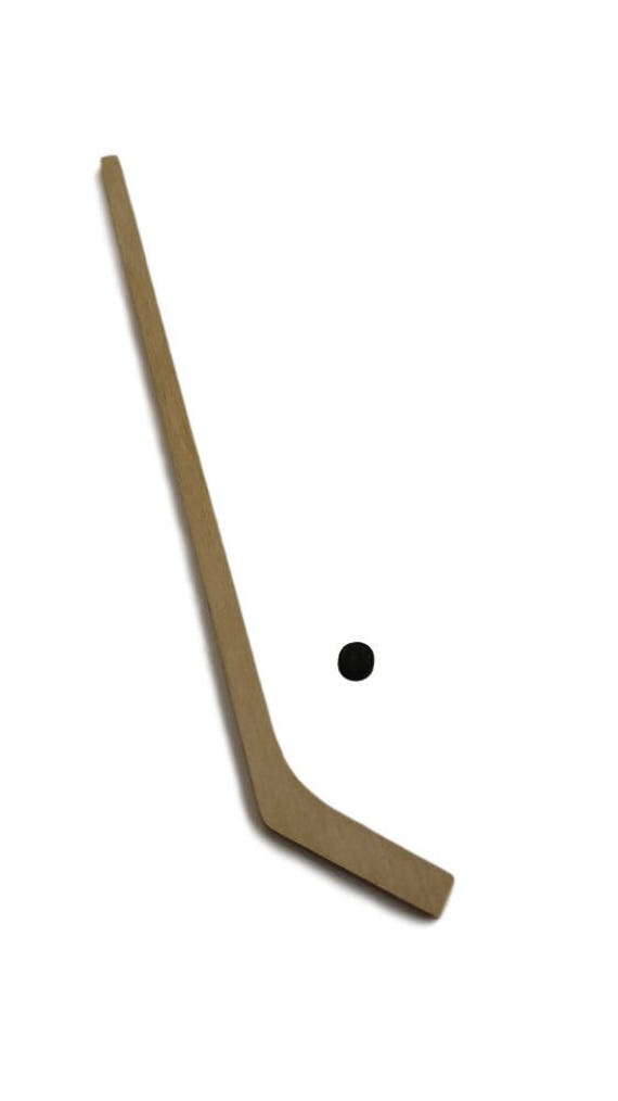 Puppenhaus Miniatur Hockey Stick w/Puck Erwachsene Puppe