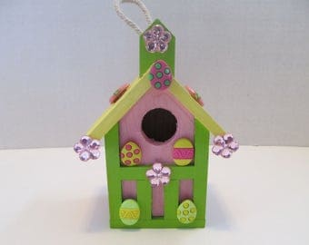Birdhouse gifts etsy easter wood birdhouse gifts for her gifts for women easter gifts easter negle