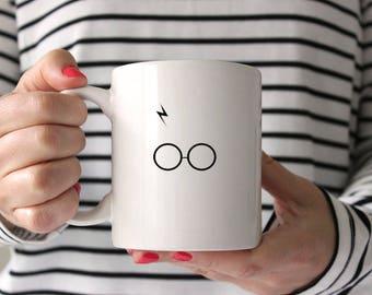 Harry Potter Scar and Glasses Mug