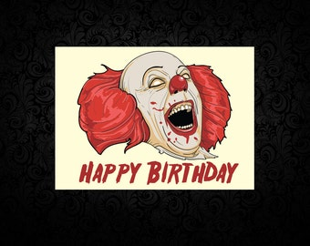 Pennywise The Clown- Digital Birthday Card
