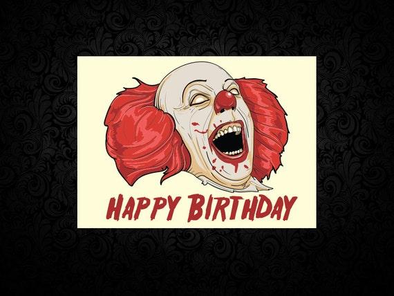 Pennywise The Clown Digital Birthday Card – Clown Birthday Cards