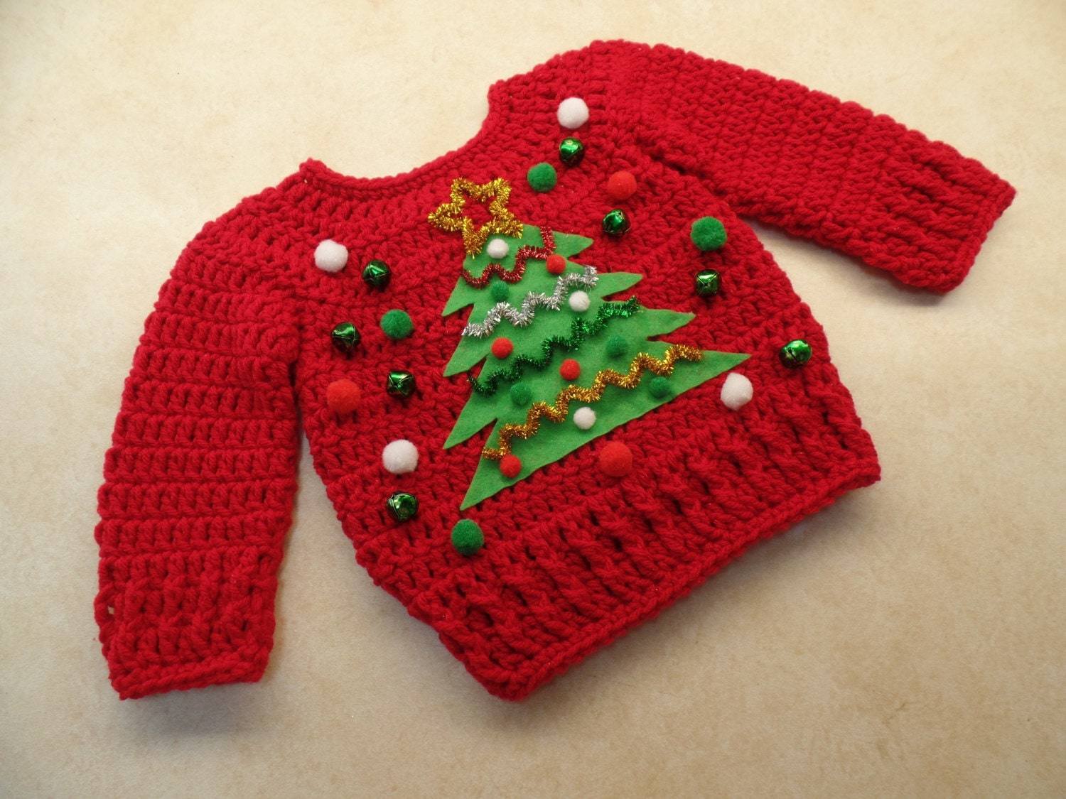 Child ugly christmas sweaters