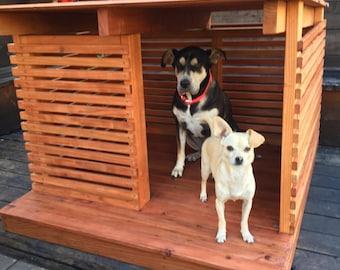 Redwood Dog house