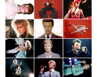 David Bowie - 12 Postcard Sized Photo Gift Set