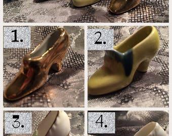 Collectible -Vintage Miniature shoes