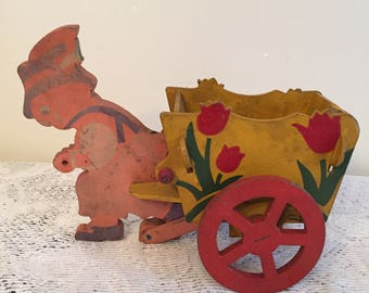 Bunny pulling cart by Trixy toys