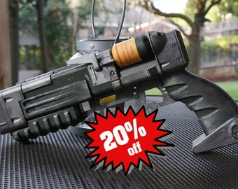Laser Pistol V.4 1:1 Scale