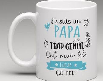 Personalized - gift mug I'm an awesome dad