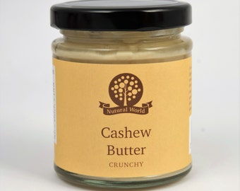 Cashew butter - 100% pure and tasty!