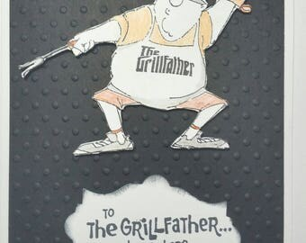 Father's Day Card Kit - Grillfather