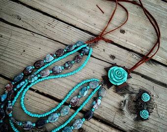 Jasper 4 strand set Xtra long