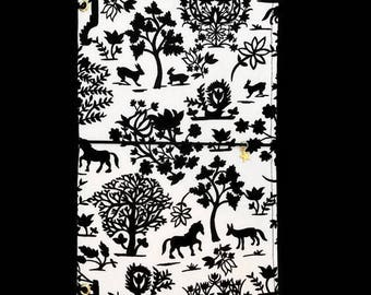REGULAR Fabric Travelers Notebook. Fauxdori Cover. Fauxdori. Midori Notebook Fabric Dori Planner Cover. Fabric Midori. Fabric Fauxdori. ALEX