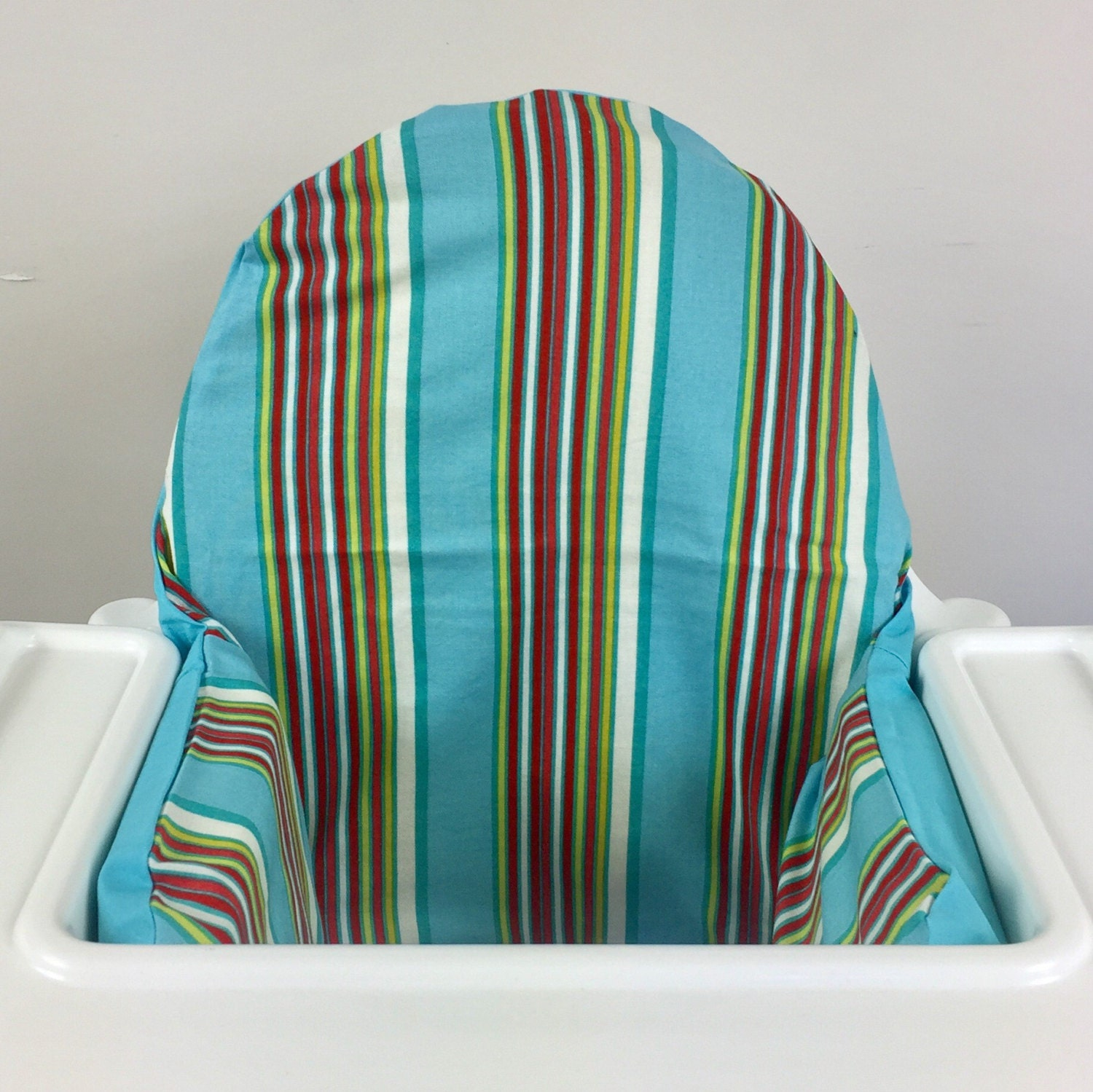 striped ikea antilop highchair high chair cushion cover with. Black Bedroom Furniture Sets. Home Design Ideas
