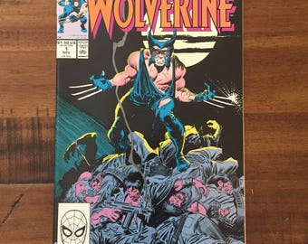 1988 Wolverine #1 Comic Book/ NM-VF/ Marvel/ J/ HOT!!!