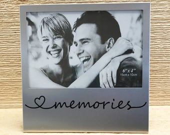 Memories Silver Picture Frame