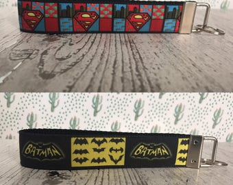 Batman, superman, keyfob, superhero, dc comics