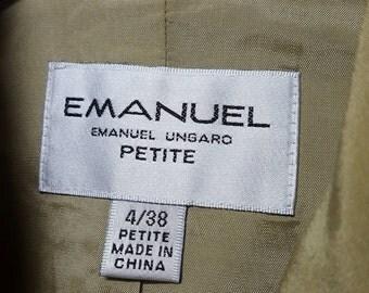 Vintage Enanuel Ungaro, Petite Blazer, size 38, Emanuel blazer