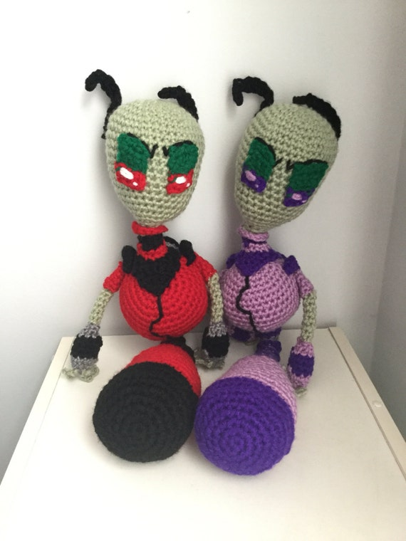 Crochet Invader Zim Patterns : Clutches & Evening Bags Crossbody Bags Hobo Bags Shoulder Bags Top ...