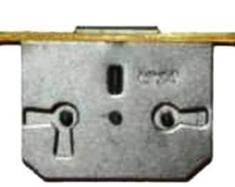 Brass Pltd Steel Half Mortise Chest Lock 1 3 4wide X