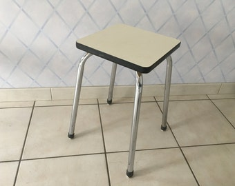 Stool in 70s formica