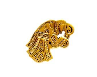 Belt Fitting Vendel VIKING KRISTALL Bronze