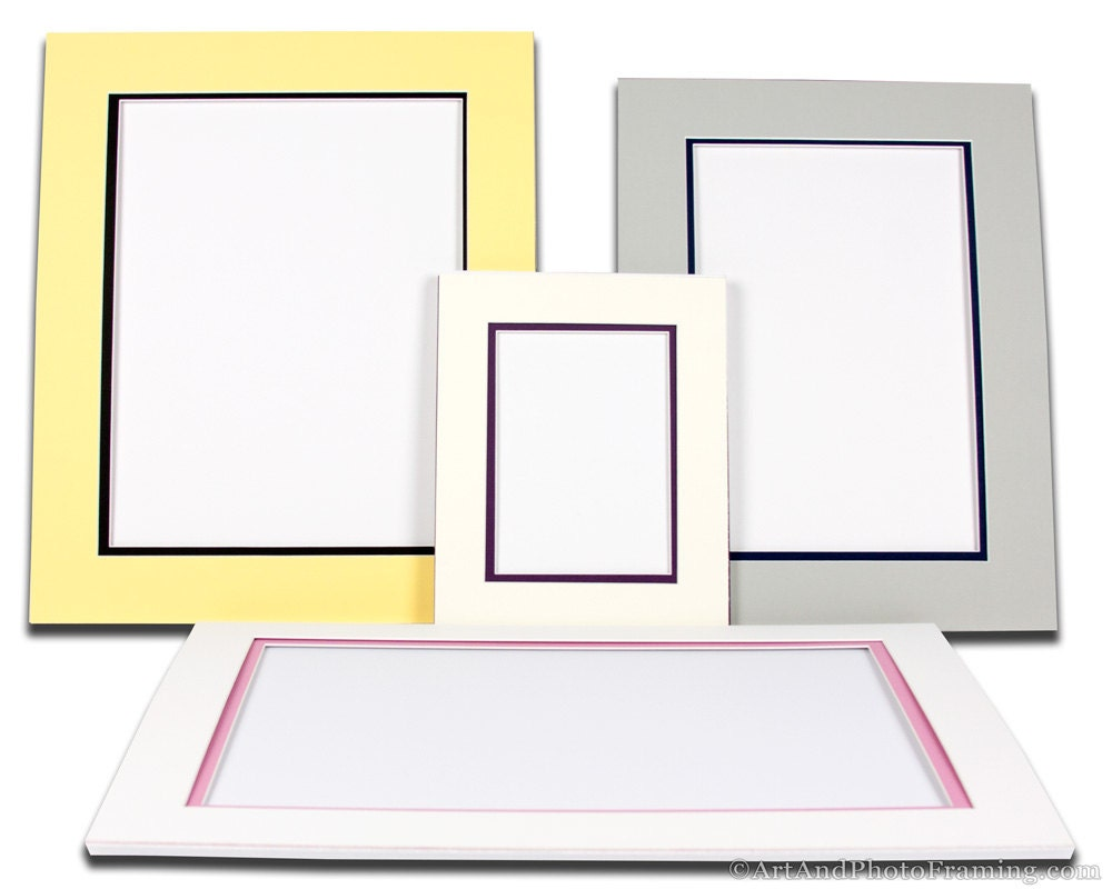 Matboard Picture Frame Mat Board Custom Photo Matte