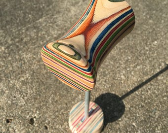 Drum Beater made from Recycled Skateboards