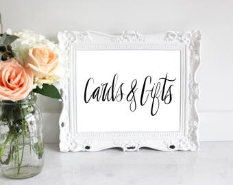 PRINTABLE Sign | Cards & Gifts