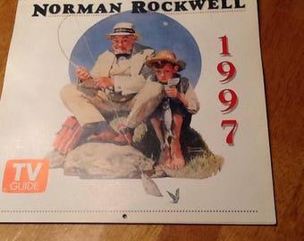 Norman Rockwell calendar