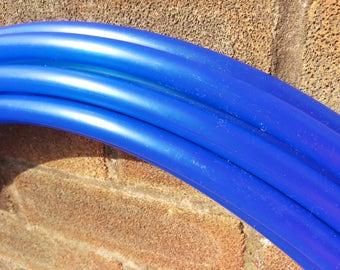 "5/8"" UV Blue Polypro Hula Hoop"