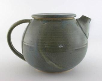 Ceramic teapot, handmade teapot, pottery teapot, lovely ceramic teapot  (No. N-te-10)