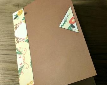 100% Handmade STUS Journal - Blank Paper - Soft Cover