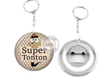 Keychain bottle opener/great uncle / Christmas gift