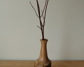 Weed Pot| Wood Vase|Cherry Vase