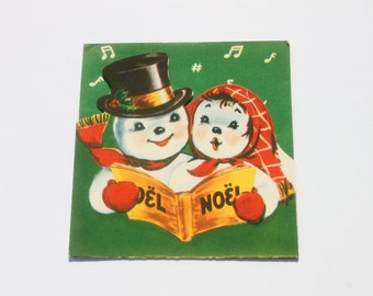 1940s christmas card | Etsy