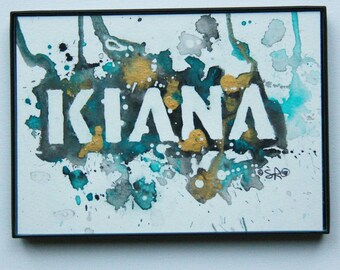 Personalized Watercolor Paintings