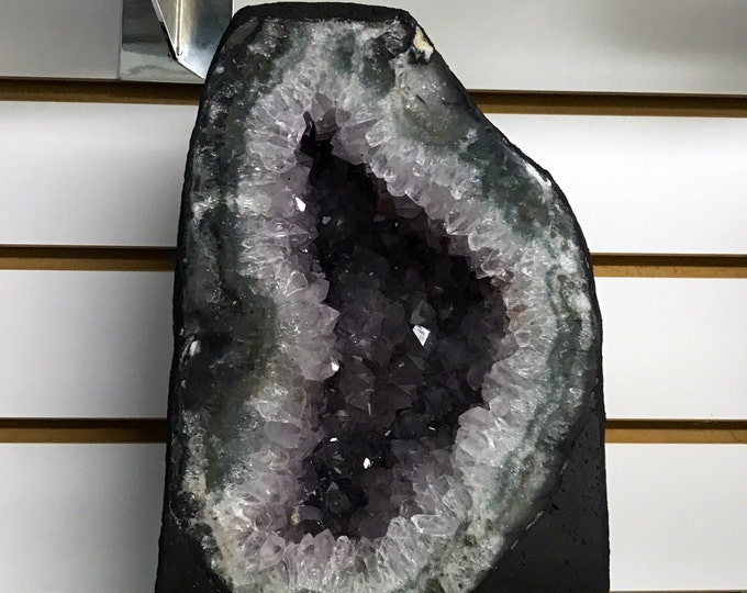 Quality Amethyst Cathedral 11 inch tall From Uruguay- Amethyst \ Raw Amethyst \ Amethyst Crystal \ Crystal \ Home Decor \ Fung Shui \ Reiki