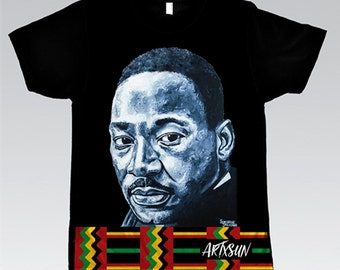Martin Luther King Jr Striped Bottom