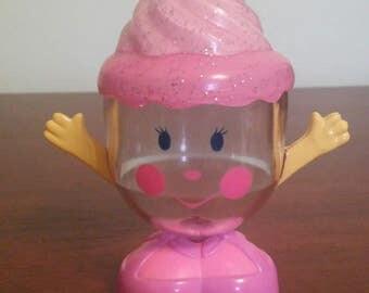 1990 Mattel Cupcake Container
