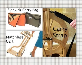 Schacht Spinning Wheel Cart, Carry Bag & Carry Strap SUPER FAST Shipping!
