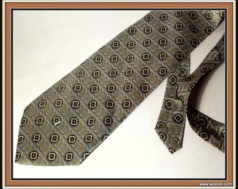 Vintage tie(s) from brands like Belmonte and Sabina .