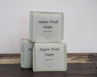 French Green Clay Hand Crafted Soap