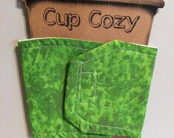 Cup Cozy Green