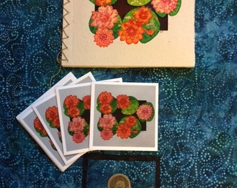 Lotus Blank Note Cards
