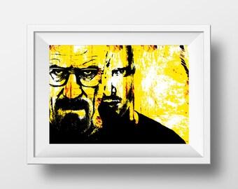 Breaking Bad movie print instant download, Printable art