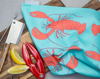 Lobster Teatowel