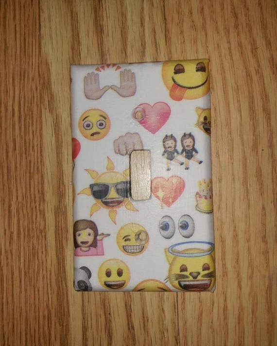 Emoji Characters Switch Cover Plate
