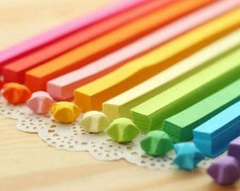 15 pcs origami paper colors for stars