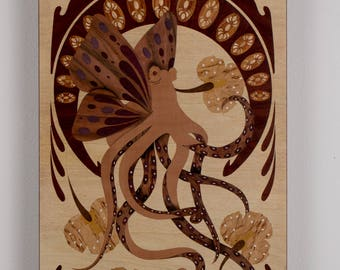 Marquetry Art new chimera